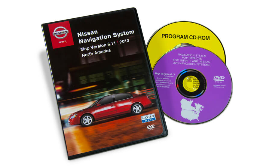 Nissan Navigation First Generation DVD Map Update Version 6.11 for United States and Canada product photo